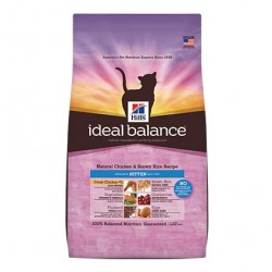 HILL´S IDEAL BALANCE GATITOS - POLLO Y ARROZ