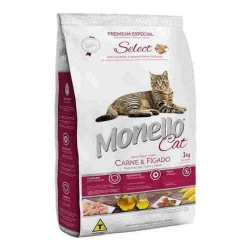 MONELLO GATO SELECT (CARNE E HIGADO)