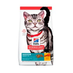HILL´S GATO ADULTO INDOOR SEAFOOD 3,5lb